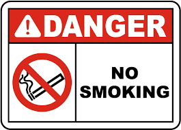No Smoking Signage Danger No Smoking Sign J2578 By Safetysign Com