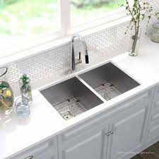 Fascinating High Back Farmhouse Sink Best Quot Kitchen Drain