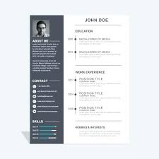 creative resume design templates free download resume design templates downloadable design templates vector art