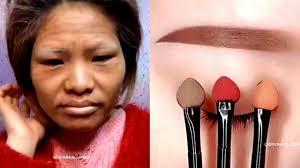 crazy viral asian makeup transformation 2018 miracle of makeup from insram 1