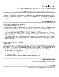 Broker Resume Ideas Collection Mortgage Resume Samples
