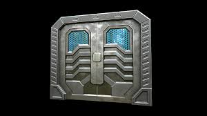 Plain Sci Fi Door Texture O Inside Models Ideas