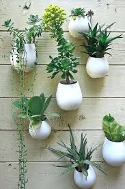 wall hanging planter sneak k a seaside home layered with inspiration wall mounted planter box ideas