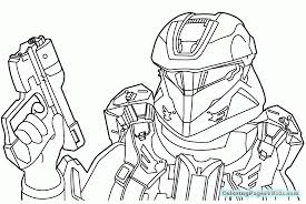 Halo Spartan Coloring Pages Coloring Pages For Kids Colouring Book