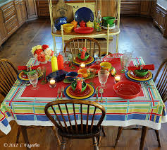 table fiesta ware the little round table