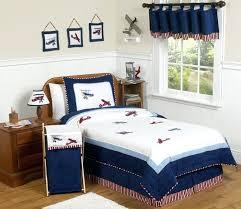 vintage airplane crib bedding red white blue vintage airplane plane full queen sized kids boy bedding