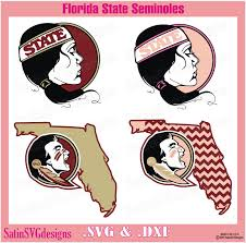 I thought this would look great with gold foil on a black tote. Florida State Seminoles Girl Set Design Svg Files Cricut Silhouette Studio Digital Cut Files