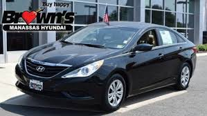 hyundai sonata 2013. Exellent 2013 Used 2013 Hyundai Sonata GLS Sedan Manassas On 3