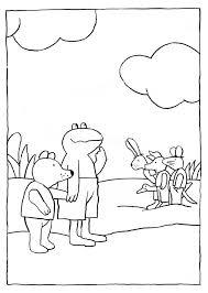 Kikker Is Kikker Kleurplaat Google Zoeken School Frog Theme