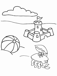 summer pictures to colour. Brilliant Pictures Summer Coloring Pages For Kids Inside Pictures To Colour