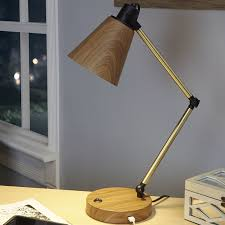 ivy bronx amin metal quot desk lamp with usb port reviews wayfair