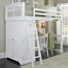 ne kids walnut street locker loft bed white the locker loft bed white is a perfect storage solution for one or two children