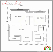 800 Sq Ft Duplex House Plans South Indian Style