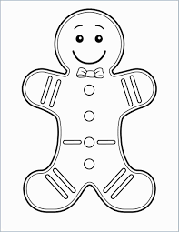 Simple Gingerbread House Coloring Page With Cardboard Unique Color