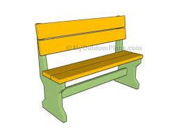garden bench diy plans. free bench plan at myoutdoorplans garden diy plans