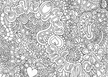 Small Picture Super Hard Abstract Coloring Pages Coloring Pages