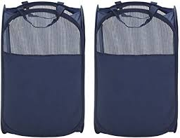 Mesh Pop Up And Easy Fold Laundry Hamper 1353613