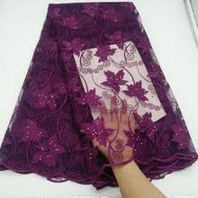 Buy <b>french lace</b> fabric in <b>purple</b> and get free shipping on AliExpress ...