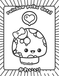 And it's really catching on around the world. Incredible Kawaii Coloring Pages For Kids 101 Coloring