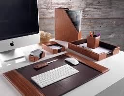 bonded leather desk set 6 piece pink. Prestige Tan Brown Crocodile Embossed Leather Seven Piece Desk Organiser Set Bonded Leather Desk Set 6 Piece Pink L