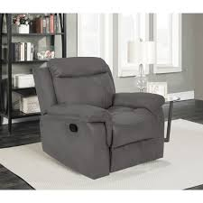 recliner chairs canada. Fine Chairs Whitmore Contemporary Faux Leather Recliner Chair  Grey  Chairs  Best Buy Canada To