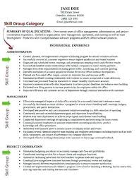 Skills Qualifications For A Resume Technical Skills To Write In Resume Resumes On A Ptctechniques Info