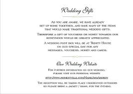 wedding gift card wording wording for gift cards instead of gifts awesome t voucher wording for