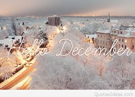 wonderful winter image hello december