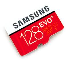 Micro SD EVO 128GB, memory Card w/ Adapter