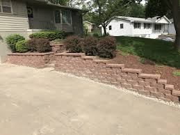 water drainage concrete retaining wall