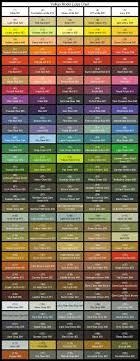 Lokis Great Hall Vallejo Paint Charts Paint Charts