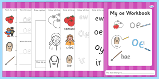 Here, you will find free phonics worksheets to assist in learning phonics rules for reading. Phase 5 Oe Grapheme Workbook Teacher Made