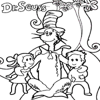 Small Picture Dr Seuss Coloring Pages Surfnetkids