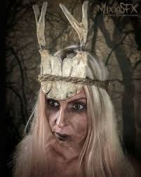 american horror story roanoke lady a wood witch makeup final results