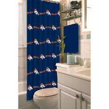 nfl denver broncos decorative bath collection shower curtain com