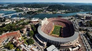 Georgia Fans Attempt To Checker Neyland Stadium In Red And Black