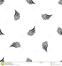 Wing Pattern Cool Design