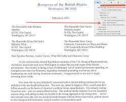 Tea Party Lawmaker Letter On Med Device Tax Repeal Authored By