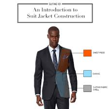 Suiting 101: An Introduction to Suit <b>Jacket</b> Construction | Black Lapel