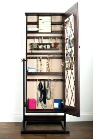 full length mirror jewelry armoire wall mount kirklands