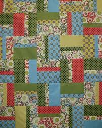 12 best Quilting-Yellow Brick Road images on Pinterest | Yellow ... & Easy-Peasy Strip and Fat Quarter quilt Adamdwight.com