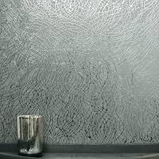 metallic wallpaper bedroom black damask
