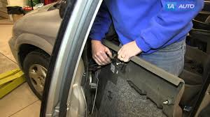 how to remove install inside door panel 2002 07 dodge grand caravan  at 2005 Dodge Caravaninside Panel Fuse Box Site Youtube Com