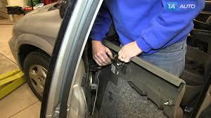 how to remove install inside door panel 2002 07 dodge grand caravan you