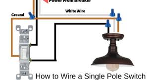 how to wire a light switch very easy