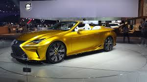 Blog for car lovers: 2017 Lexus LC 350 Convertible: Price ...
