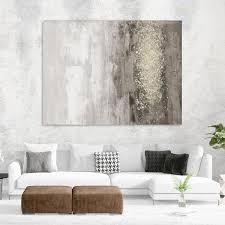giant art 54 in x 72 in glitter rain