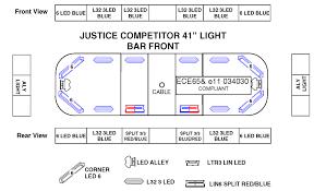 whelen justice series lightbar Whelen Lightbar Diagram 41\