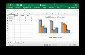 3d Clustered Column Chart Excelize Document