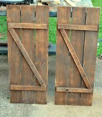 diy wood shutters exterior how to make barn wood shutters for less than diy interior wood diy wood shutters exterior